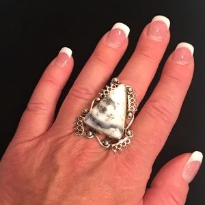 Jewelry - Dendritic Opal Ring
